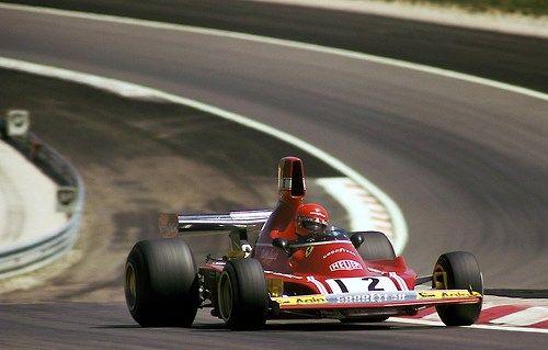 Niki Lauda Ferrari 1974