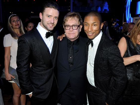 Justin Timberlake, Elton John And Pharrell Williams | GRAMMY.com