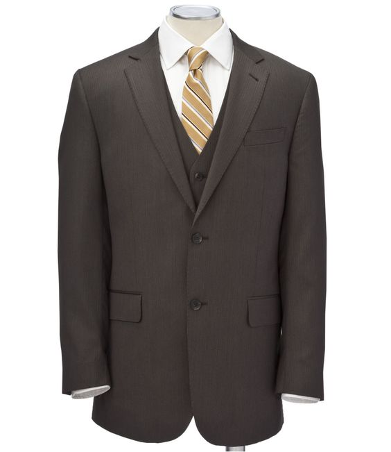 shops wool and suits on