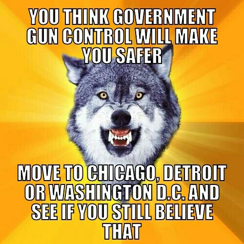 Strict Government Gun Control Will Not Make Us Safer!
