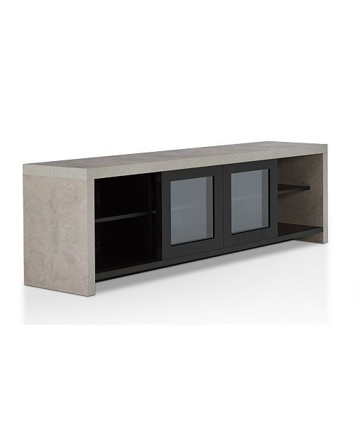Furniture Of America Xonx Industrial Tv Stand Reviews Home
