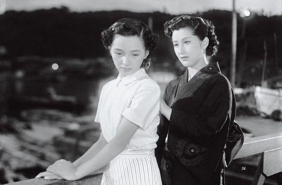 Kogure Michiyo (木暮実千代, at right) 1918-1990, Japanese Actress