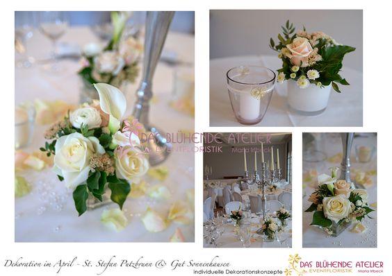 Saisonstart – April Hochzeit in Gut Sonnenhausen mit Kirche in St. Stephan Putzbrunn in apricot creme | das-bluehende-atelier