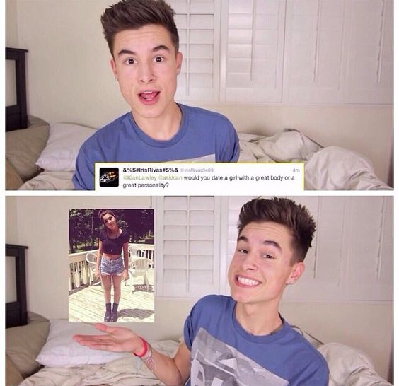 Kian Lawley s girlfriend