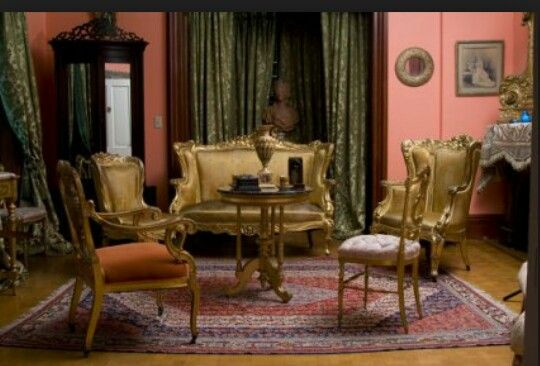 Second Empire Style Room | No Exit | Pinterest | Empire Style, Room And  Room Style