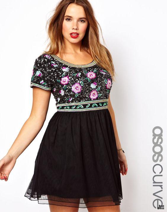 Летние платья ASOS для фигуристых девушек