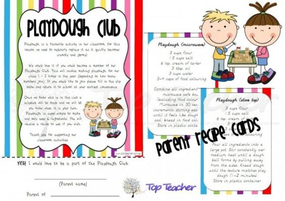Innovative Classroom Resources : Playdough club top teacher innovative and creative