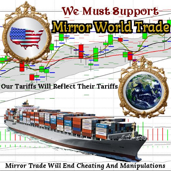 """ARTICLE"" Donald Trump's Mirror World Trade Story Coming Soon"