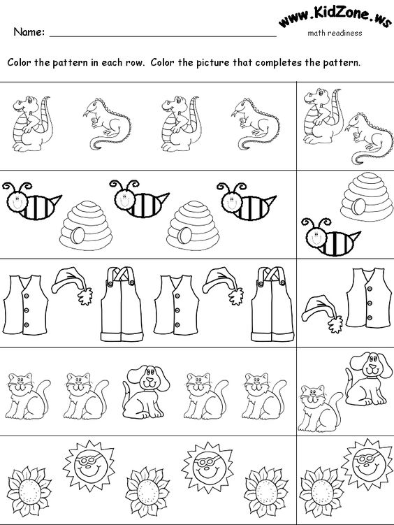 Algebra patterns worksheets Kidzone – Kidzone Worksheets