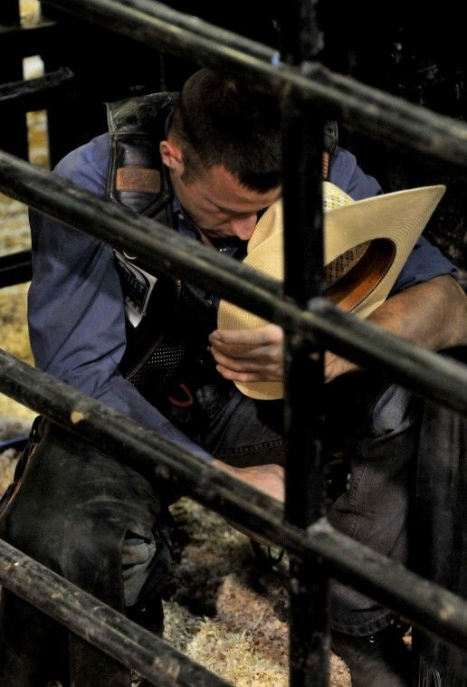 My man...PBR bull rider Billy Robinson