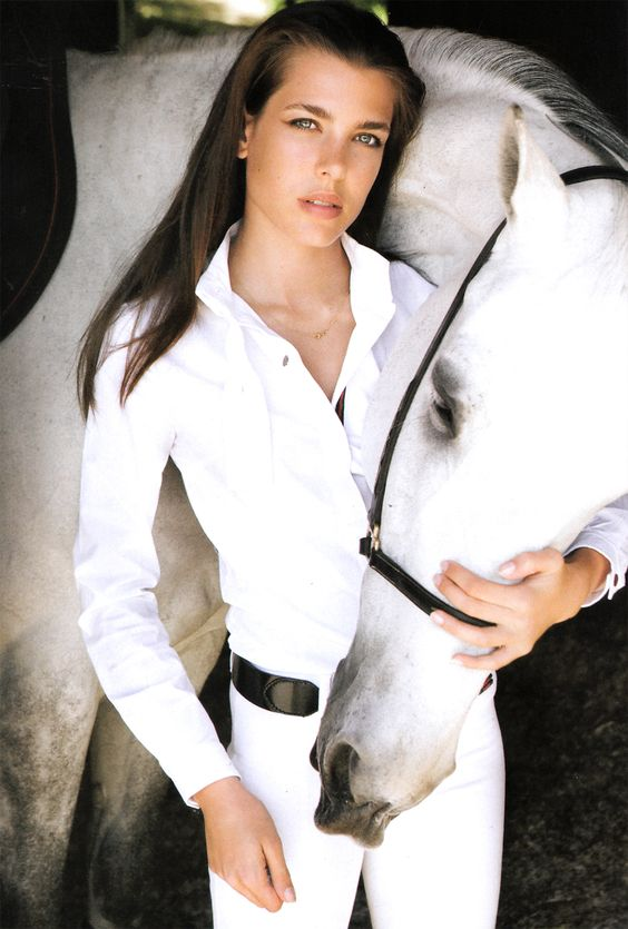 Princess Charlotte of Monaco by Mario Testino
