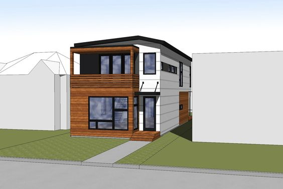 Hive modular b line medium prefab in calgary modern for Modern prefab homes mn