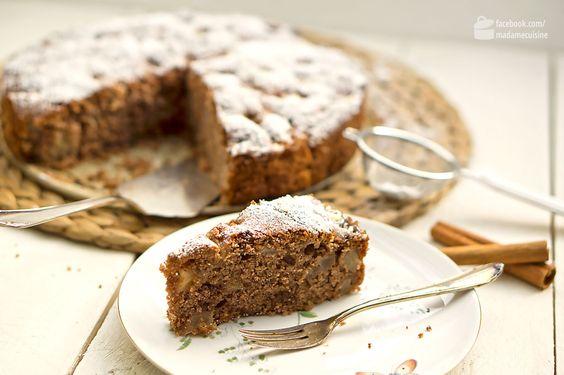 Winterlicher Birnen-Nuss-Kuchen   Madame Cuisine Rezept