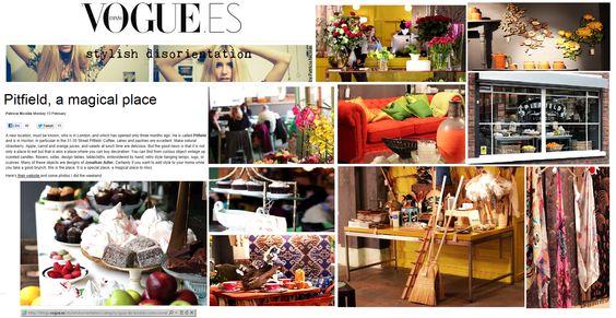Vogue, Spain, describes us a 'magical place'