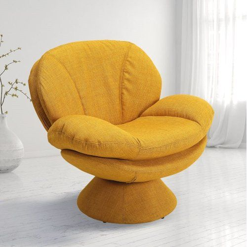 Rio Straw Yellow Pub Accent Chair Comfort Chair Leisure Chair