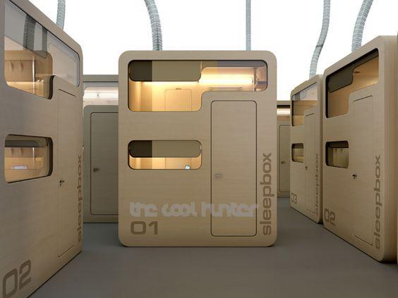 Sleep Box: Hoteles en capsulas