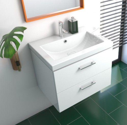 Badmobel Waschtisch Waschbecken Como 50 Cm Schrank Lara Optional Click Clack Siphon Waschbecken 50 Cm Waschbecken Waschtisch