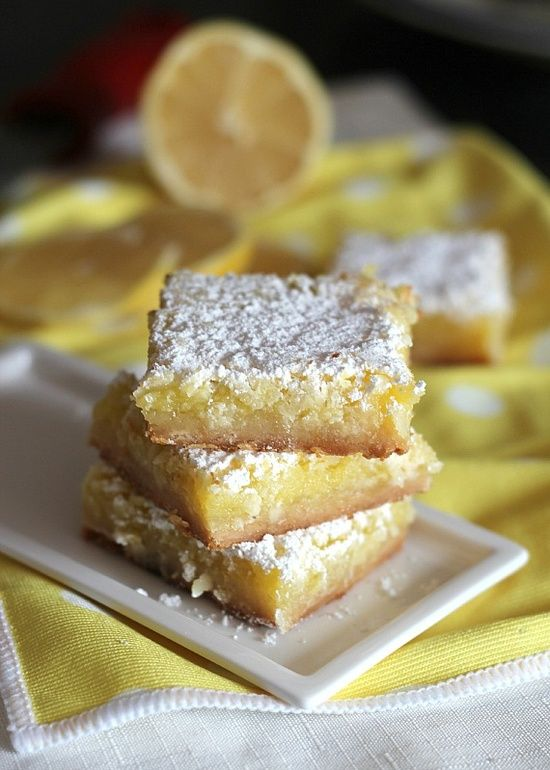 Coconut Lemon Squares - this sounds delicious !