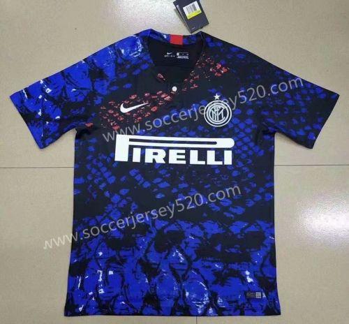 Limited Edition 2019 20 Inter Milan Blue Black Thailand Soccer Jersey Aaa 407 Soccer Jersey Inter Milan Soccer