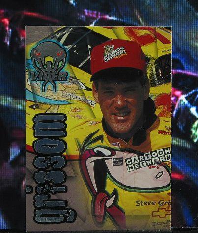 http://nascarniche.blogspot.com/  Steve Grissom 1996 Wheels Viper Trading Card #20 Base Set Nascar