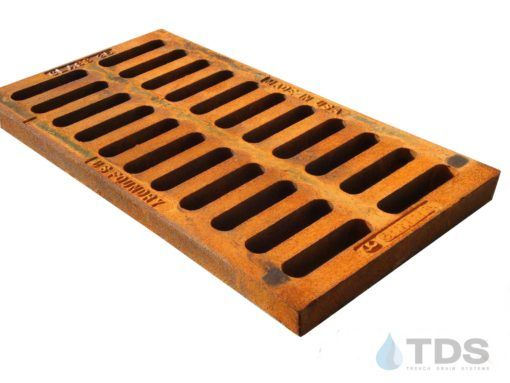 12 X 24 Cast Iron Hd Grate Replacement Grating In 2020 Cast Iron Iron Grate Trench Drain Systems