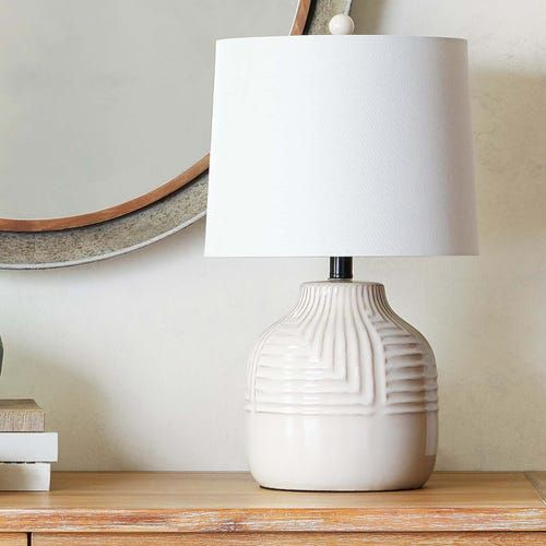 Patterned White Ceramic Table Lamp Pier 1 Table Lamp Ceramic Table Lamps White Ceramic Lamps