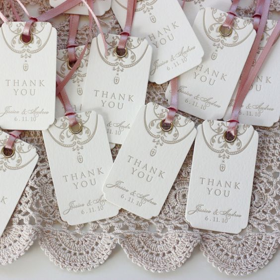 letterpress swing tags #stationery