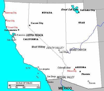 United States Map Dc Comics