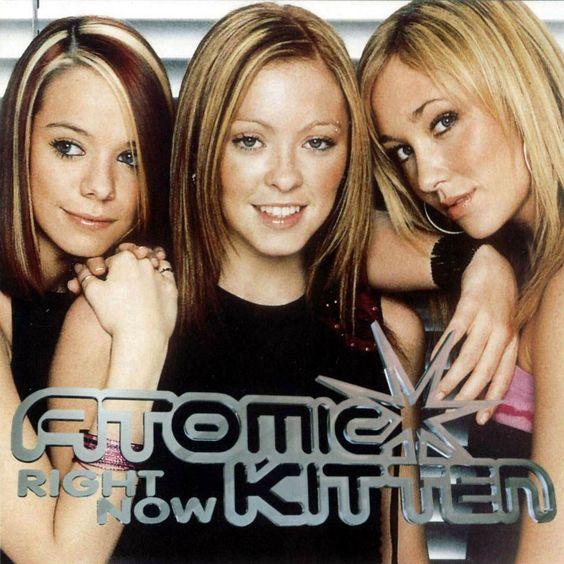 Atomic Kitten – Right Now (single cover art)