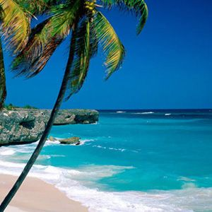 Barbados- If we ever win Powerball, we're moving here!