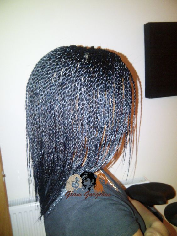 Twists, Shoulder length and Senegalese twists on Pinterest