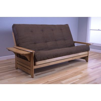 Kodiak Furniture Phoenix Queen Futon And Mattress Upholstery: Suede  Chocolate