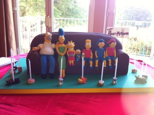 Let them eat cake! - Simpsons cake by Charm City Cakes