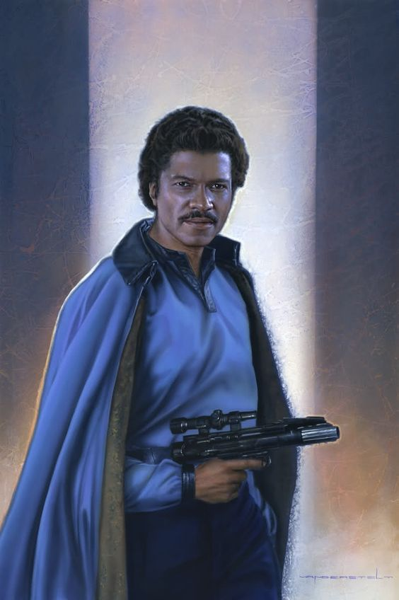 *LANDO CALRISSIAN (Billy Dee Williams) ~ Star Wars: Episode V - The Empire Strikes Back, 1980