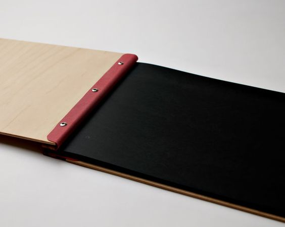 portfolio custom engraved wood A3 folio drawing book by lorgie - resume portfolio folder
