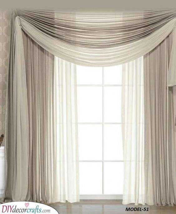 Simple Beige Bedroom Curtain Ideas Simple Beige Bedroom