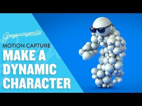 Greyscalegorilla Blog   How To Build An Animated Dynamic Character In Cinema 4D With Motion Capture