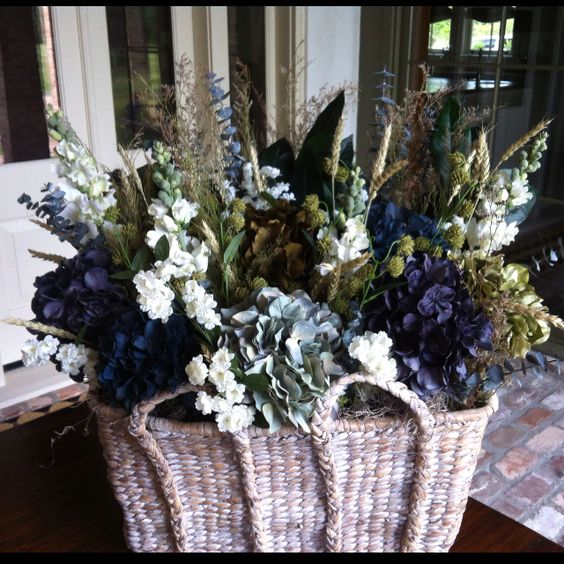 Using Filler In Fluff In Home Decor Making Arrangements: I Made This Flower Arrangement To Put On Top Of An Armoire