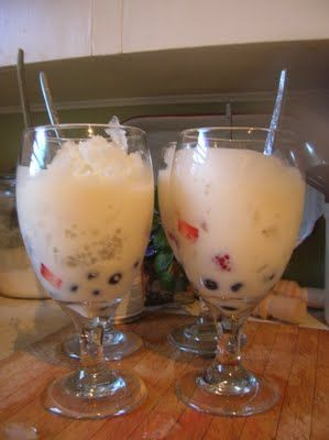 Halo halo, Tapioca pearls and Halo on Pinterest
