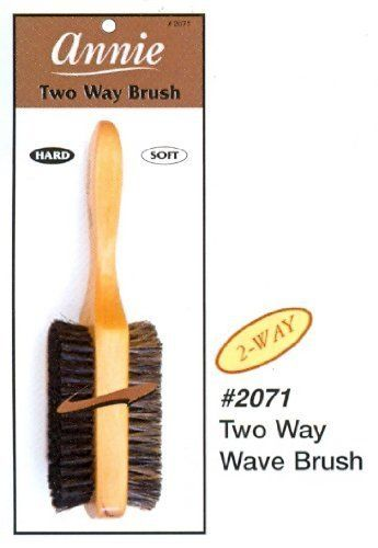 Annie 2 Way Wooden Wave Brush -2071 by Annie * Continue to the product at the image link.