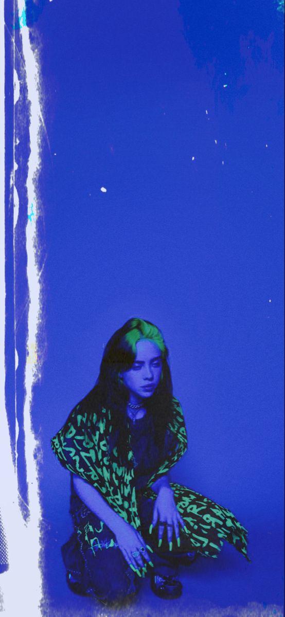 Blue Billie Eilish Wallpaper In 2020 Billie Billie Eilish Aesthetic Wallpapers