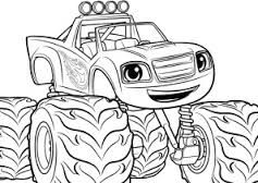 Image Result For Blaze And The Monster Machines Coloring