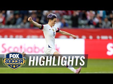 Uswnt Wins 2020 Concacaf Women S Olympic Qualifier Defeating Canada 3 0 Fox Soccer Highlights Youtube In 2020