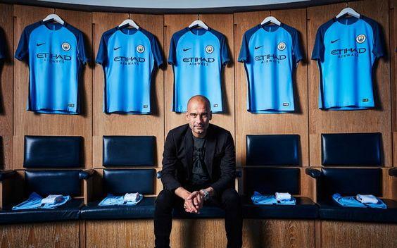 Maillot de foot Manchester City Domicile 2016/2017: