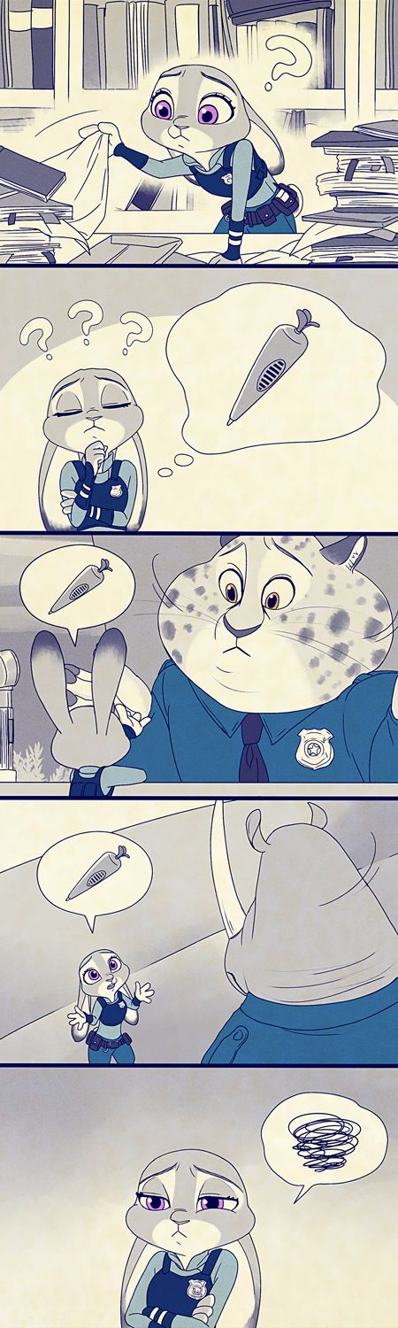 Zootopia News Network: Comic: Making Up (Original by Tama) (Translated by the ZNN Translation Team)