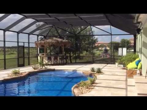 Aluminum Pool Screen Enclosure In Homestead Florida Venetian Builders Youtube Pool Screen Enclosure Screen Enclosures Pool