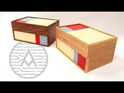 Bauhaus Watercolor Boxes Woodworking Youtube Wood Storage Box Woodworking Projects Diy Woodworking Projects