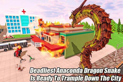 Hack Online Furious Anaconda Dragon Snake City Rampage Online