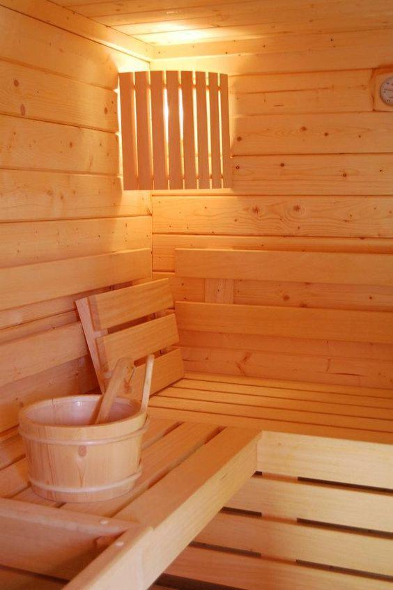 Sauna finlandais by clair azur - Sauna finlandais exterieur ...