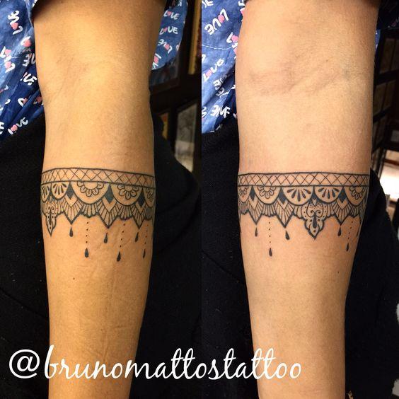 Bracelete feito por bruno mattos Insta @brunomattostattoo